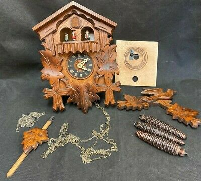 Vintage Carl Gruttert Cuckoo Clock - Restoration Project - See Description (D5)