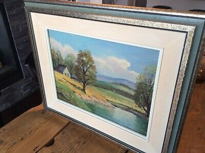 Gorgeous Sydney Berne (1921-2013) Quebec Canadian Oil Painting on Board
