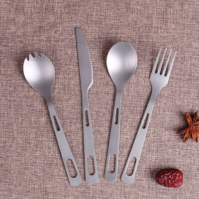 UK seller Engraved METAL Spork BRAND NEW Picnic Camping Cutlery Lunch Box.