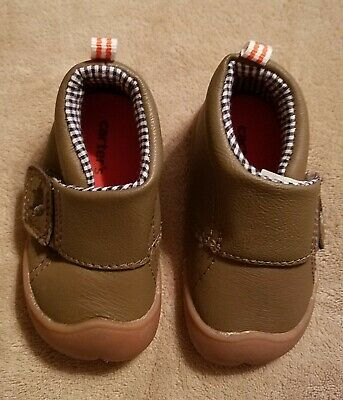 6-9 Months New Carters Every Step Stage 1 Crawling Shoes Size 2.5