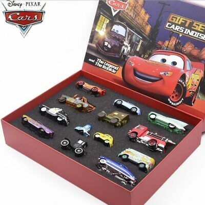 1:55 Disney Pixar Cars 3 Metal Diecast Car Model Toy Gift Set Lightning McQueen