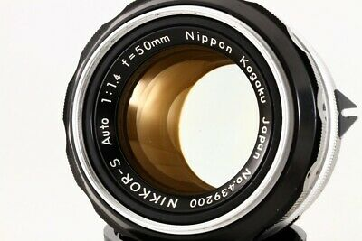 Nikon Nikkor S Auto 50mm F/1.4 non Ai Lens Exc+++ From JP#4392
