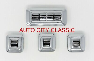 1959 - 1968 Chevy Power Window Switches Buick Cad Olds Pont Set Orig GM Style
