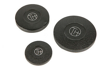 Three Taylor Hobson Cooke Lens Caps 63mm / 87mm / 106mm