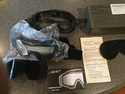 ESS Goggles Advancer V10 Glasses Safety Military LAND OPS1,STEMACO GOGGLES