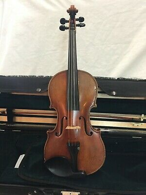 Antique Violin August Reichers  with Cirilo Bow and case #764 Berlin