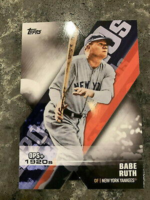 2020 Topps Series 1 Dominance of the Decade Die Cut Insert Card Set 20 Cards