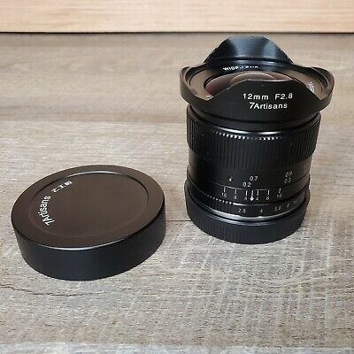 7artisans 12mm F2.8 SONY E-Mount Wide Angle MANUAL Focus Lens Emount