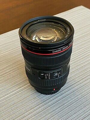Canon EF 24-105mm f/4L IS USM Lens - great condition!
