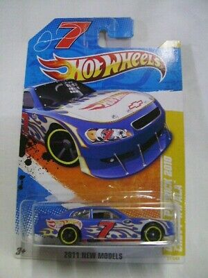 Hot Wheels 2011 New Models #37 DANICA PATRICK 2010 CHEVY IMPALA - Mint