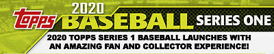 2020 Topps Series 1 Complete Baseball Base Card Set 350 Cards LIVE READY TO SHIP