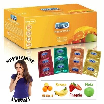 Preservativi Durex Pleasure Fruit Tropical Select Aromatizzati Colorati Profilat
