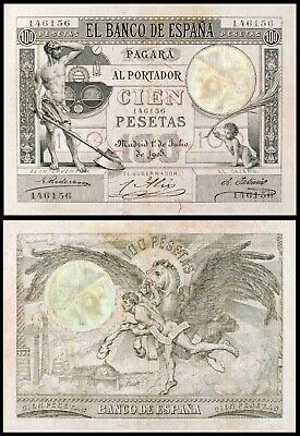 Facsimil Billete 100 pesetas Julio de 1903 - Reproduction
