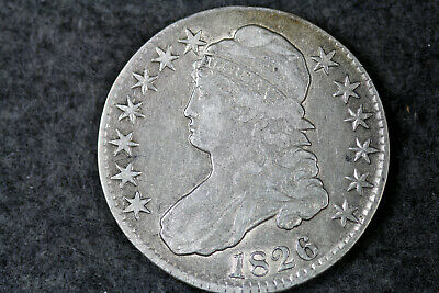 Estate Find 1826 Capped Bust Half Dollar  #D19988