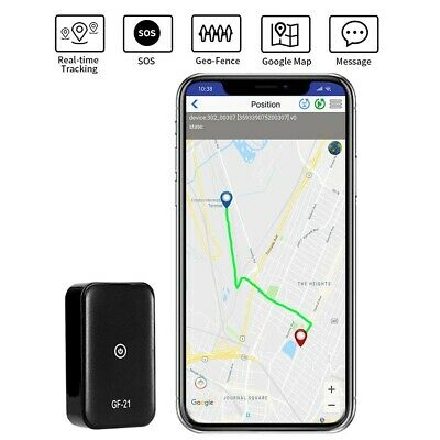Mini PORTABLE GPS TRACKER Locator NO MONTHLY FEE FOR USE Pets Children Car etc