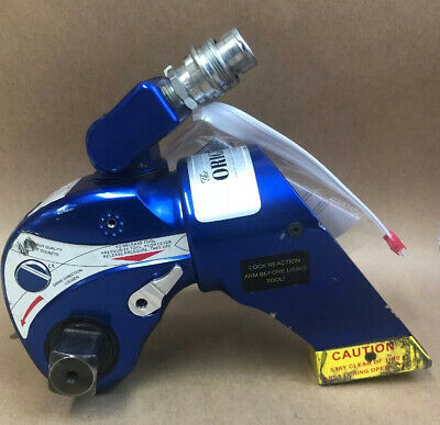 """HYTORC HY-3MXT Hydraulic Torque Wrench 1"""" Drive Calibrated 2/2021 MINT #20098"""