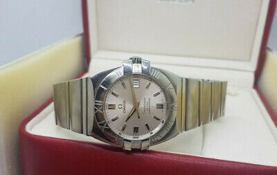 Used Omega Constellation Co-Axial Chronometer 2500 Silver Dial Auto Man's Watch