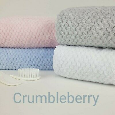 Baby Fleece Blanket, Boy-Girl, Super Soft Luxury Blanket. Ideal Pram, Crib, Car
