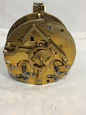 19th Century Japy Freres HY Marc French Clock Movement – Spares / Repair No4