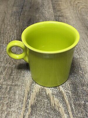 Fiesta Ware Coffee Mug Light Green Lemongrass Ring Tom & Jerry Ring Handle