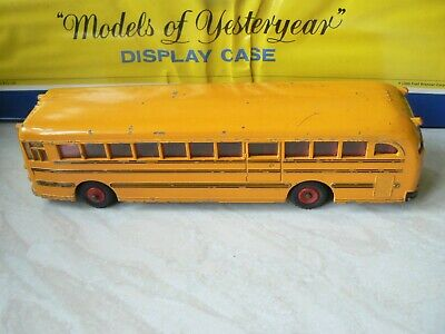 VINTAGE DINKY 949 RARE WAYNE'S SCHOOL BUS LOVELY EXAMPLE FOR AGE 1960's