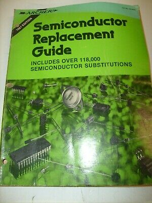 1981 Archer Radio Shack Semiconductor Replacement Guide 276-4004 Transistor +