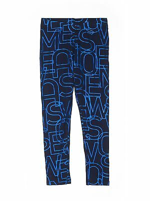NWT Rockets of Awesome Girls Blue Leggings 6
