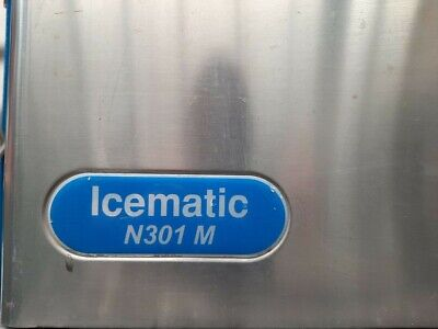 ICE MAKER MACHINE ICEMATIC N301M FULL CUBE MAKES 150kg PER 24 HOURS