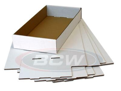 Lot Of 10 - BCW Short Comic Storage Box Replacement Lid for Short Boxes