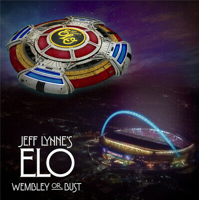 Jeff Lynne's ELO : Wembley Or Bust CD 2 discs (2017) FREE Shipping, Save £s