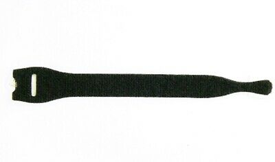 VELCRO® ONE-WRAP® Cable Tie Straps - 10 Pack - 25mm x 200mm - Black