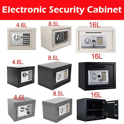 Electronic Password Security Safe Money Box Safety Suit for Wardrobe Study Room