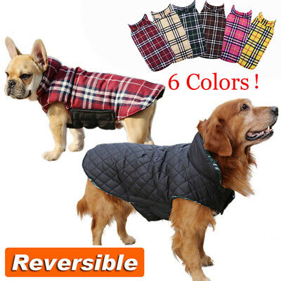 Waterproof Pet Dog Coat Puppy Clothes Jacket Vest Small Large Winter Autumn Warm