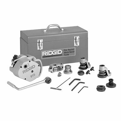 Ridgid 88232 915 23 lbs Lightweight Manual Roll Groover with Cast-In Handle