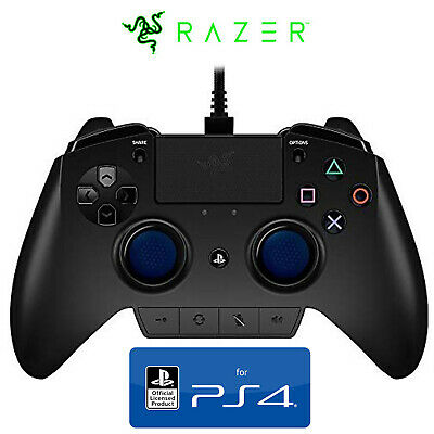 Official Razer Raiju Controller Ergonomic Gamepad Playstation Ps4 - 3M Warranty