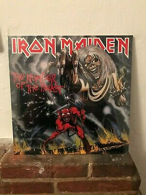 Iron Maiden - The Number Of Beast Lp 2014 Parlophone Brand New Sealed Vinyl