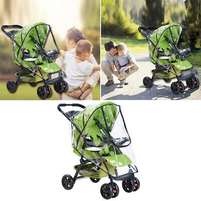 Clear Rain Cover Raincover for Universal Hauck Shopper Sport Buggy Pushchair UK