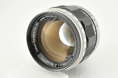 *Fair* Canon 50mm f/1.4 Lens for Leica Screw L39 LTM from Japan #4017