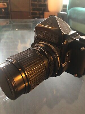Gently used Pentax 6x7 camera + 75mm /135mm lens