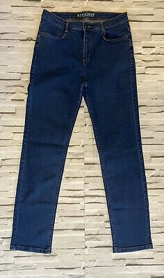 NEXT Blue Straight Leg Jeans Size 12 Casual