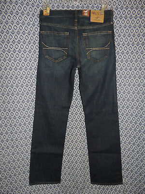 Hollister Jeans Co. Mens Classic Straight Leg Denim Blue Jeans NWT Size: Several