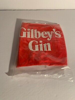 Vintage Original Gilbey's Alcohol Blow Up Beach Ball NEW! RARE!