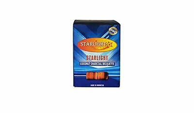 15 mm STARLIGHT CUBES COCONUT SHELL Cubic Charcoal Coal Hookah Incense 72 COUNT