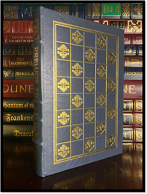 Prelude To Foundation ✎SIGNED✎ by ISAAC ASIMOV Easton Press Leather 1st Edition