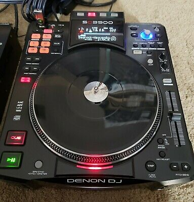 Denon DJ SC3900 Digital Turntable controller and media player
