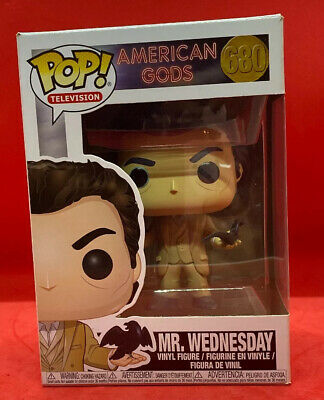 Wednesday Collectible Toy 24275 American Gods Funko Pop TV