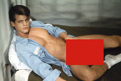 #6 Jeff Stryker Rare photo signed Jeff Stryker limited edition numbered. Nud e