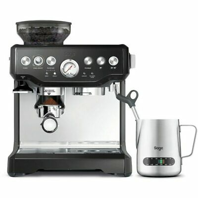 Sage Appliances SES875 Espresso-Maschine The Barista Express Black Sesame