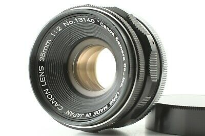 【Exc+++++】 Canon 35mm f/2 Leica Screw Mount L39 LTM Lens from JAPAN #206