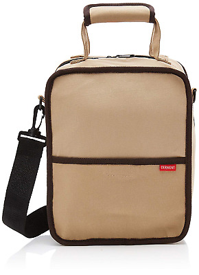 Derwent 2300671 Carry-All Bag, Canvas, 130 Pencil Plus Accessory and Sketchbook